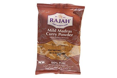 Rajah Madras Curry Mild Pkt 100G
