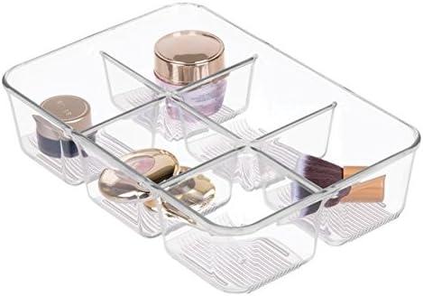 mDesign Caja de almacenaje para Maquillaje - Organizador de ...