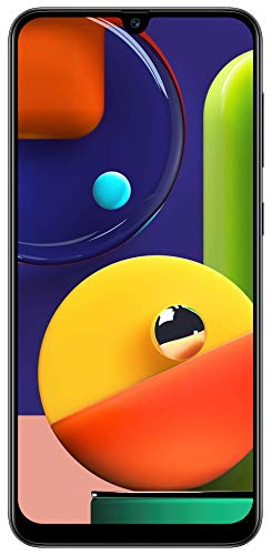 Samsung Galaxy A50s (Prism Crush Black, 6GB RAM, 128GB Storage)
