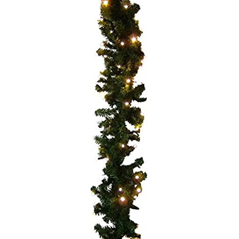 Amazon.com: XP Connectable Lit Garland with 100 Warm White ...