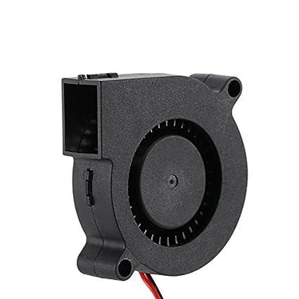 ZREAL 3//6 Pz DC 12V 0.18A 5015 Abluftventilator f/ür 3D-Drucker