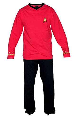 Star Trek Adult Scotty Officer Uniform Pajama Set - Costume Nerd Pants