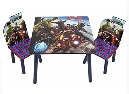Marvel – Juego de Mesa y sillas: Amazon.es: Hogar