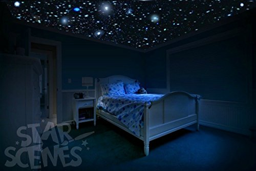 Charmant Amazon.com: Glow In The Dark Ceiling Stars   So Realistic | Brightest Glow  Stars For Ceiling | Stars That Glow In The Dark For 10hrs+ | Easy Peel U0026  Stick ...