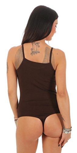 BALI Lingerie - Body - Básico - para mujer marrón