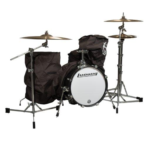 Ludwig 4 Piece Drum Set White Sparkle