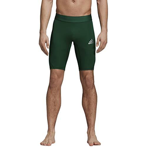 adidas Training Alphaskin Sport Short Tights, Dark Green, Medium]()