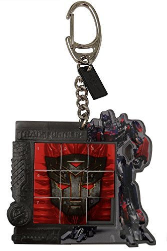 Transformers Slice Puzzle Keychain- Revenge of the Fallen Optimus Prime ()