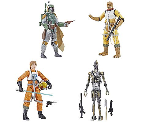 Star Wars: The Black Series Archive Collection Wave 1 Set of 4 Figures ()