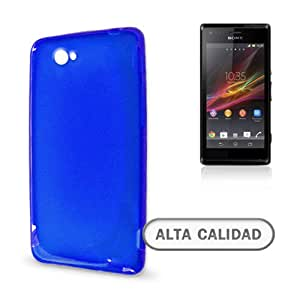 Funda TPU X-Line Sony Xperia M Azul