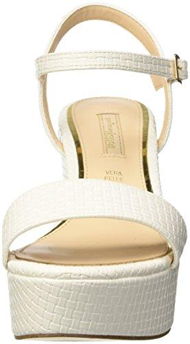 Mujer Para Sandalo Blanco Primadonna bian 118402256eibian Plataforma Sandalias Con qwpggznXaH