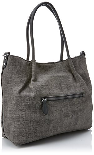 Cabas Faux grey Leather Suzie Swankyswans Handbag Gris BS0qIxv5w