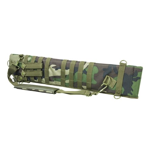 (NcSTAR NC Star CVSCB2917WC, Tactical Shotgun Scabbard, Woodland Camo)