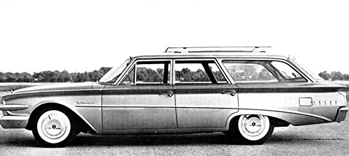 1960 Edsel Villager Station Wagon Factory (Edsel Villager)