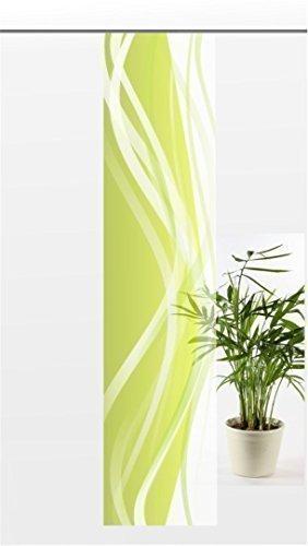 Flächenvorhang Green Modern Voile Feingewebt Transparente