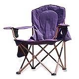 Fishing Chair Large Folding Chair Fishing Stool-Indigo