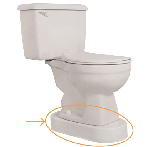 Toilevator toilet riser grande for Grande commode