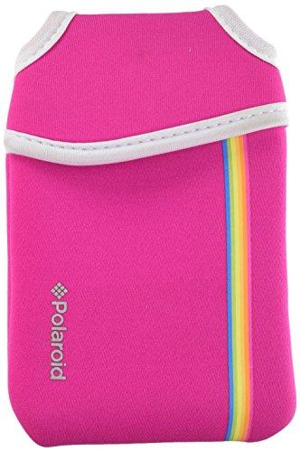 Polaroid Neoprene Pouch for The Polaroid Socialmatic 14MP Wi-Fi Digital Instant Print & Share Camera (Pink)