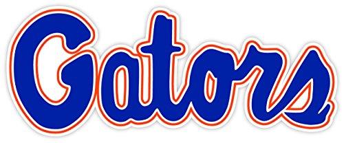 (Vinyl Sticker Florida Gators Logo Decorative Decal for Wall Windows Truck Car Bumpers Laptop Water Resistant - 5