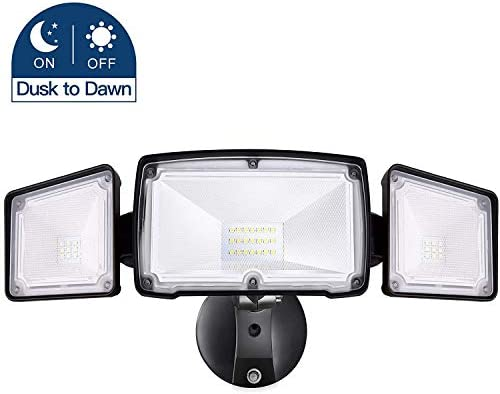 Amico 30W Dusk to Dawn LED Flood Light