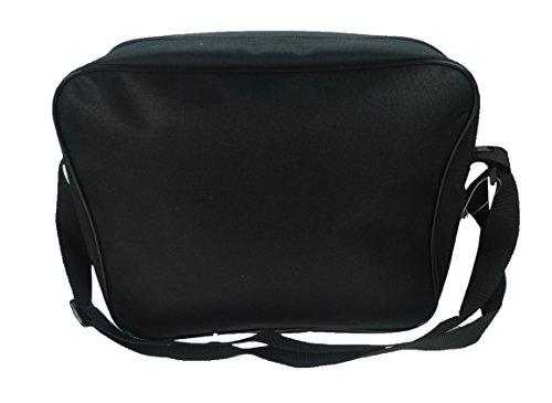 Marvel Courier Bag Borsa Messenger, 34 cm, Nero (Black)