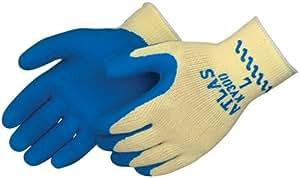 Best KV300 S Rubber Yellow/blue 1 Pair Tuffcoat Cut Resistant Gloves