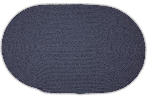 Williamsburg Blue Rug (Oval Braided Rug - Williamsburg Blue - 2'x3' )