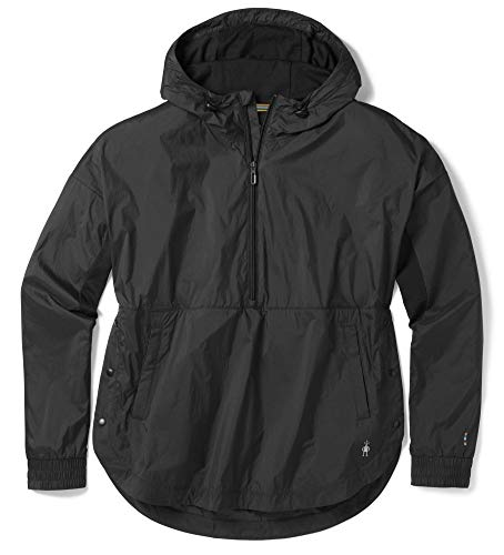 - SmartWool Women's Merino Sport Ultra Light Anorak Pullover Black Large