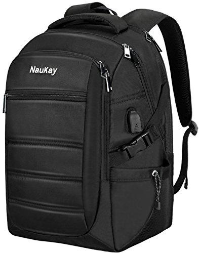 Travel Outdoor Computer Backpack Laptop bag 19''(black) - 8