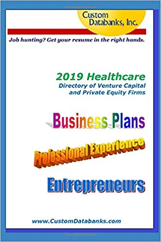 Amazon.com: 2019 Healthcare Directory of Venture Capital and ...