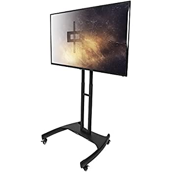 Amazon Com Kanto Mtm65 Mobile Tv Stand With Mount For 37