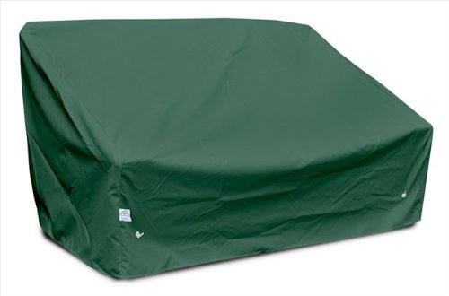 KoverRoos 69950 Deep 2-Seat Sofa Cover Large, Choose Fabric Color: 6: Forest Green