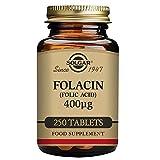 Solgar – Folic Acid 400 mcg, 250 Tablets (Packaging may vary)