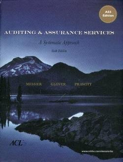 Auditing & Assurance Services: A Systematic Approach, 6th Edition