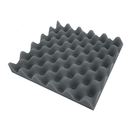 CAVSDARR Acoustic Foam Panel Sound Stop Absorption Sponge Studio KTV Soundproof Decor by CAVSDARR (Image #1)