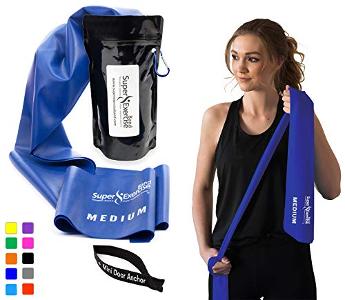 Resistance Bands Exercise Rubber Physical Therapy Training S