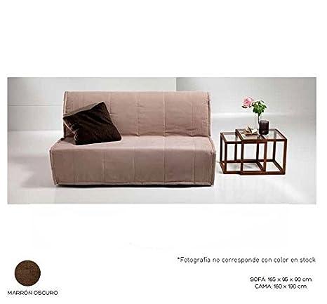 IMTHOME Sofá Cama desenfundable de Apertura Frontal y Colchón de Espuma en su Interior - OsoPerezoso.es: Amazon.es: Hogar