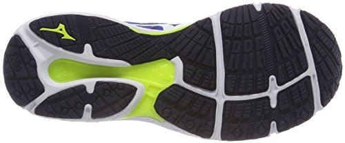 classicbluewhitesafetyyellow Wave Course Chaussures Pour Pied De Mizuno Stream Hommes Multicouleur tzxPwvq