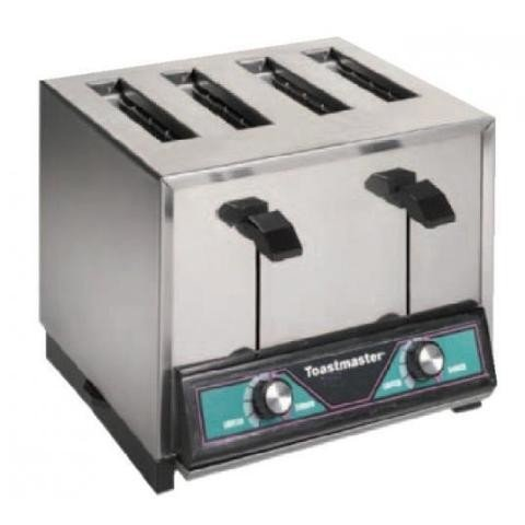Toastmaster TP409 Pop-Up Four Slice Bread & Texas Toast Toaster 120V by Toastmaster