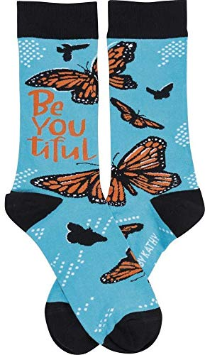 Primitives by Kathy LOL Made You Smile Silly Socks, BeYouTiful -