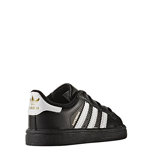 Chaussures adidas – Superstar I noir/blanc/blanc taille: 27