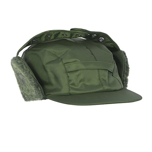 Universal Textiles Mens Water Proof Thermal Trapper Hat Ear Flaps (23.2 inches) (Bottle Green)