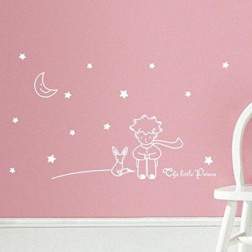 LuckES Stars Moon Pegatina de pared moda nuevo Desmontable DIY ...