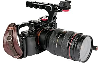 Varavon Armor II Sony A7S cámara jaula: Amazon.es: Electrónica