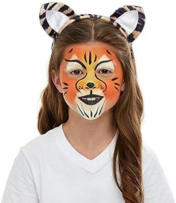 NET TOYS Practico Set de Disfraz Tigre para niño - Lindo Accesorio ...
