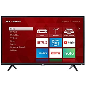 TCL 32S325 32 Inch 720p Roku Smart LED TV