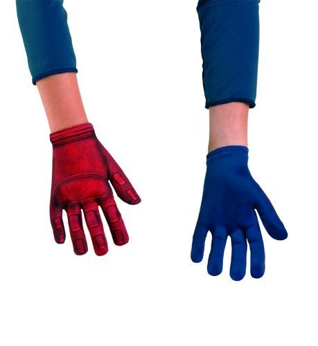 Avengers Captain America Gloves, Red/Blue