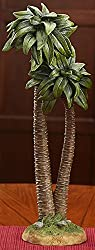 Realistic Palm Tree 14 inch Resin Stone Table Top Nativity Figurine Decoration