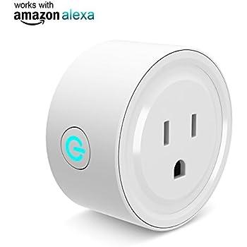 Amazon Com Wemo Mini Smart Plug Wi Fi Enabled Works