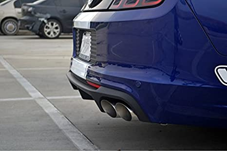 2013 - 2014 Ford Mustang Shelby GT500 Rear Bumper Quad punta Escape Valance OEM Nueva: Amazon.es: Coche y moto